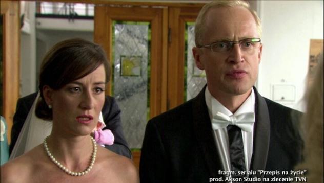 Śluby w serialach TVN