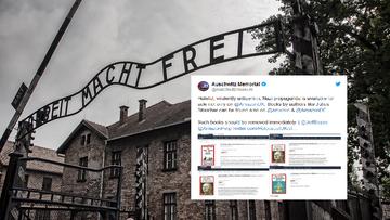 """""""Usuńcie książki z nazistowską propagandą"""". Apel Muzeum Auschwitz do Amazona"""