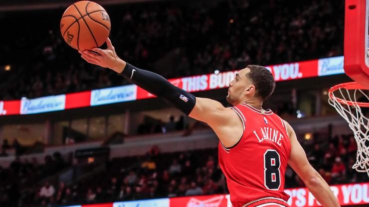 NBA: LaVine blisko rekordu ligi. Thriller dla Chicago Bulls