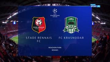 Stade Rennes - FK Krasnodar 1:1. Skrót meczu
