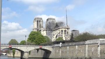 """Spór przy odbudowie katedry Notre Dame. """"Proszę się zamknąć"""""""