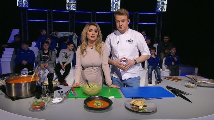 Kuchnia Mistrzów: Krem z pieczonej papryki z avocado kontra sandacz z gratine ziemniaczanym