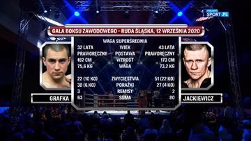 Rafał Jackiewicz - Bartłomiej Grafka. Skrót walki