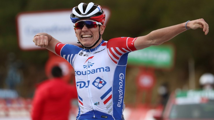Vuelta a Espana: David Gaudu wygrał etap. Primoz Roglic nadal liderem