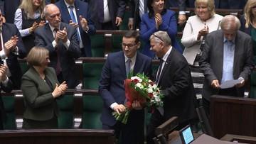 """Sejm udzielił wotum zaufania rządowi Morawieckiego. Dwoje posłów KO zagłosowało """"za"""""""