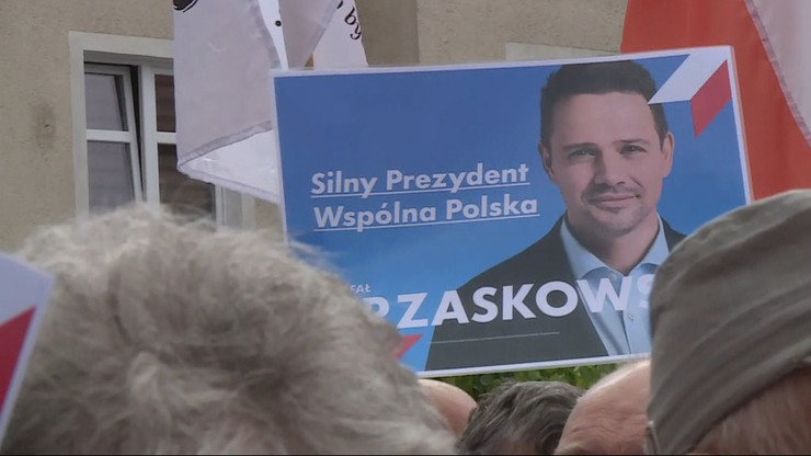 """""""Twoje dzieci będą pedałami"""". Groził spaleniem za plakat z Trzaskowskim, zatrzymała go policja"""