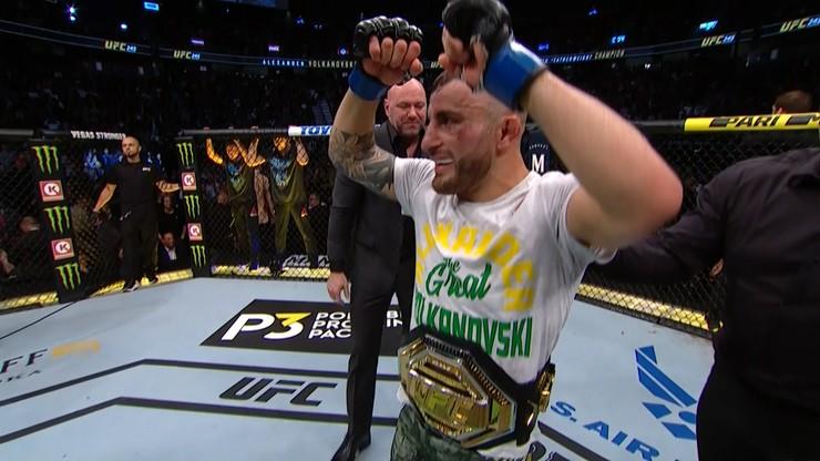 UFC 245: Zmiana na tronie! Rewelacyjny Volkanovski przerwał serię Hollowaya