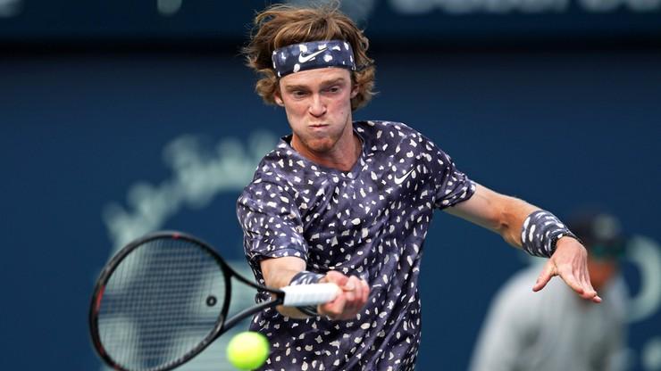 Andriej Rublow wygrał pokazowy turniej tenisowy w Kitzbuehel