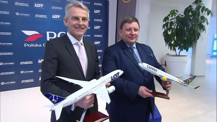 LOT przejmuje Condora. Lufthansa planuje skargę do Komisji Europejskiej