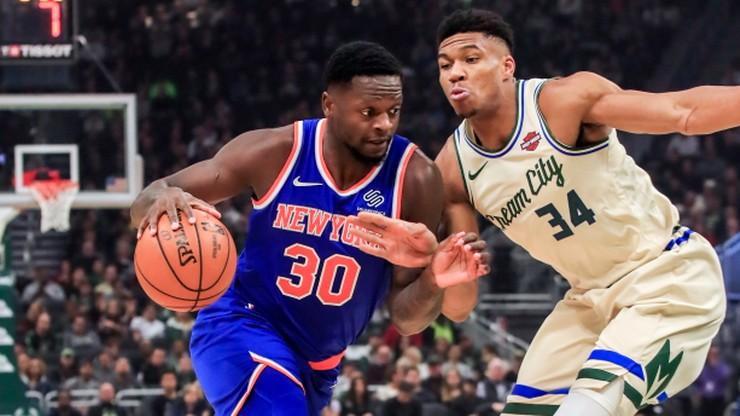 NBA: Dwunaste z rzędu zwycięstwo Bucks. Genialny Antetokounmpo