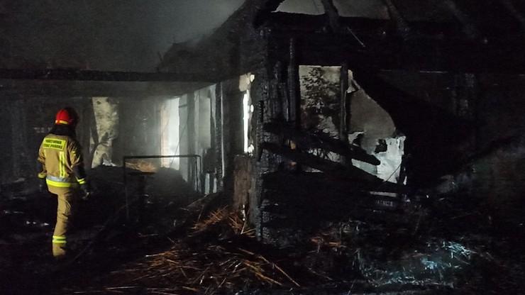 Gaszenie pożaru trwało do poniedziałkowego poranka.