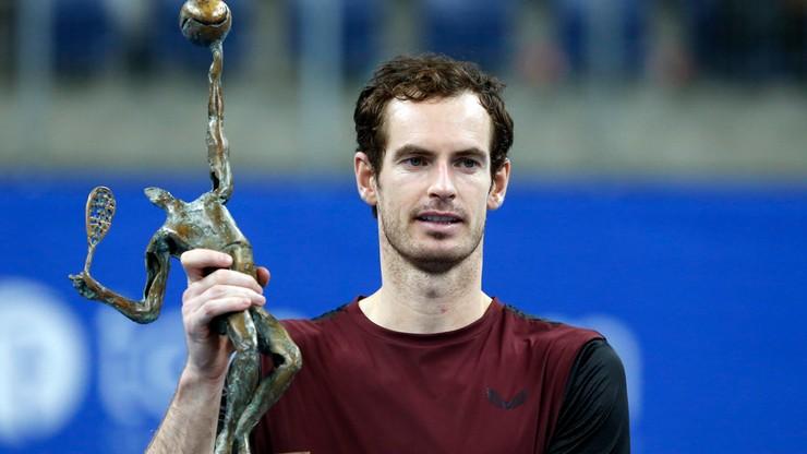 ATP w Antwerpii: Murray wygrał pierwszy turniej od 2017 roku