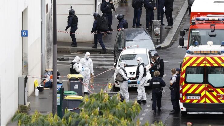 """Atak nożownika w Paryżu. Podejrzany """"nie mógł znieść"""" karykatur Mahometa"""