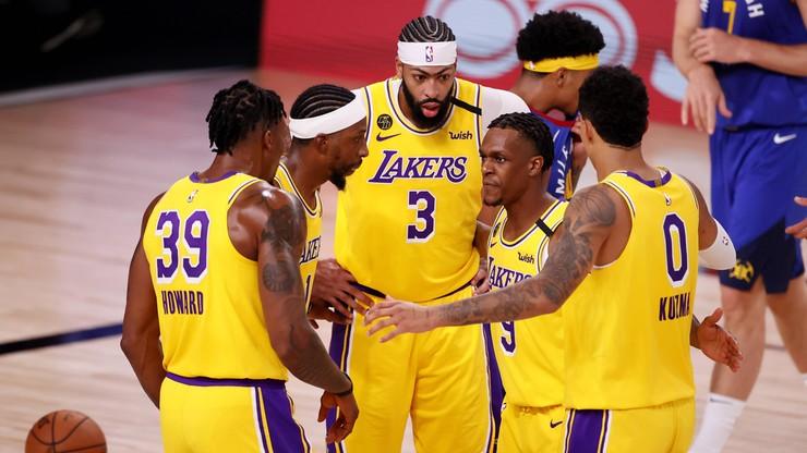 """NBA: """"Jeziorowcy"""" wygrali pierwszy mecz finału na Zachodzie"""