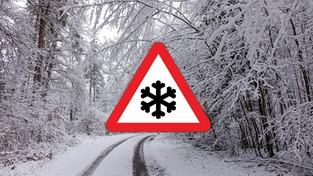 02-12-2020 11:00 W czwartek śnieżyce i gołoledź, które mogą sparaliżować ruch drogowy. W których regionach kraju?