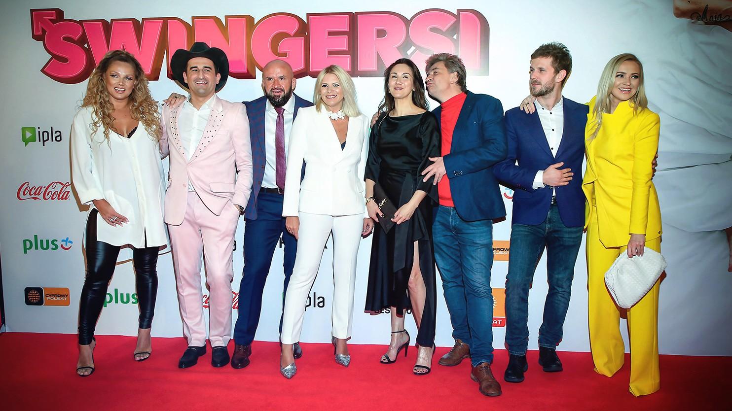 """""""Swingersi"""": Zabawa w dużym gronie. Tak było na premierze"""