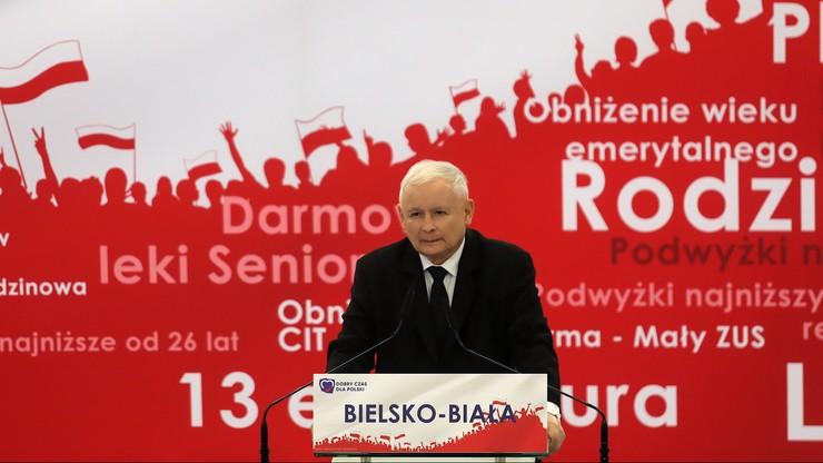 Prezes PiS: nie wprowadzamy społeczeństwa w błąd, tylko uczciwie rozmawiamy z Polakami