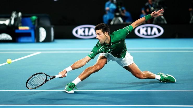 Australian Open: Djokovic awansował do drugiej rundy