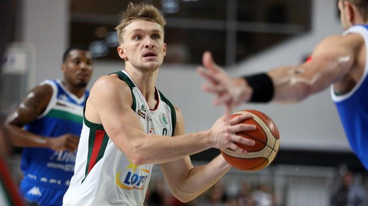 Puchar Europy FIBA: Minimalna porażka Legii w Danii