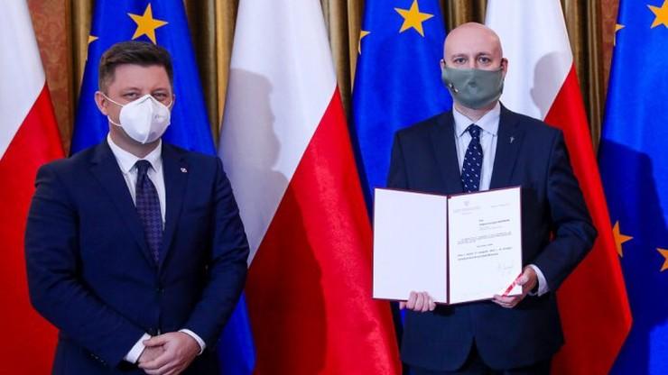 Zbigniew Hoffmann sekretarzem stanu w KPRM