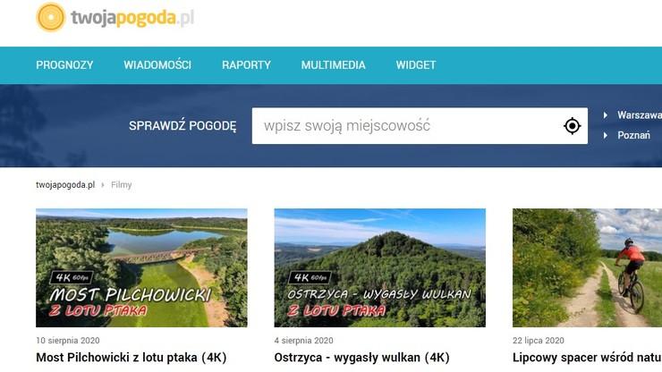 Grupa Polsat-Interia zdominowała kategorię pogodową. Konkurencja daleko w tyle