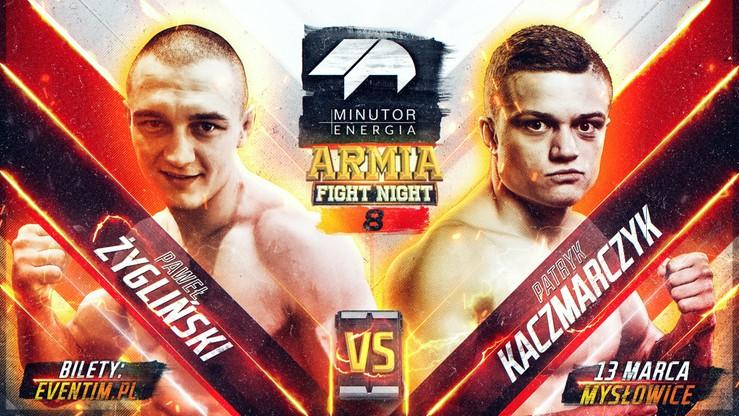 MINUTOR Energia Armia Fight Night 8: Kaczmarczyk - Żygliński w rozpisce