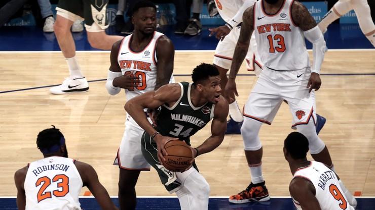 NBA: Rekordowy start Milwaukee Bucks