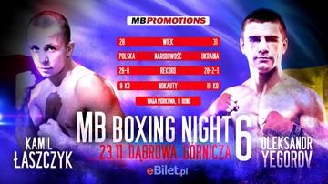 2019-10-25 MB Boxing Night 6: Łaszczyk wraca do poważnej gry