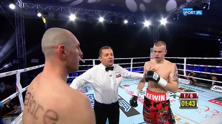 Kewin Gruchała - Patryk Litkiewicz. Skrót walki