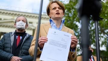 """Wicepremier Emilewicz do Czabańskiego: """"Usunięcie piosenki Kazika jest skandaliczne"""""""