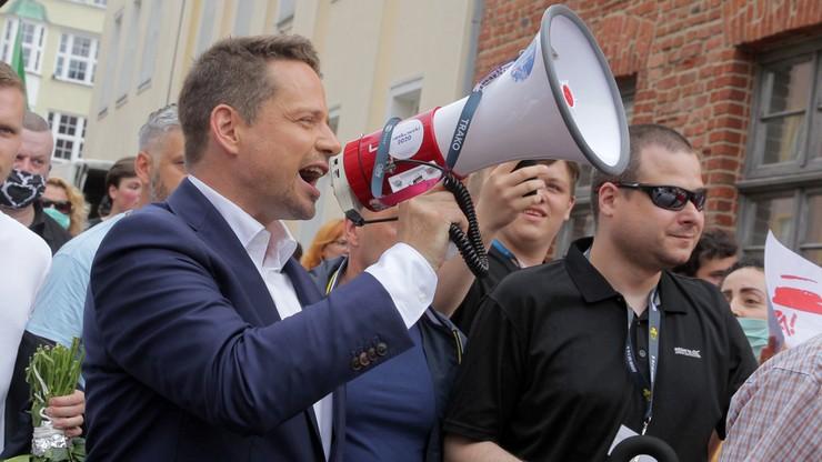 Sondaż. Trzaskowski wygrywa w II turze wyborów prezydenckich