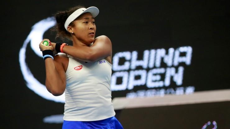 WTA w Pekinie: Osaka lepsza od Barty w finale