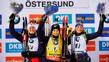 PŚ w biathlonie: Wierer wygrała sprint, Polki poza czołówką