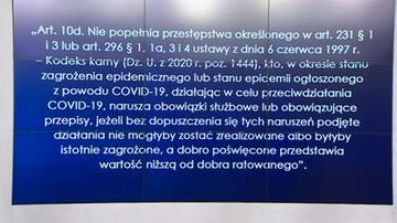 """Ustawa """"covidowa"""": treść przepisu została zaproponowana przez przez Solidarną Polskę"""