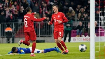 Bundesliga: Lewandowski wyrównał niesamowity rekord. Bayern rozbił Schalke