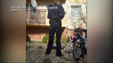 Wyszedł z dziećmi przed blok, interweniowała policja i wojsko. Tę historię zna cała Polska