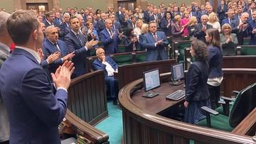"""Sejm przyjął uchwałę potępiającą wypowiedzi Putina. """"Jeden poseł miał to gdzieś"""""""