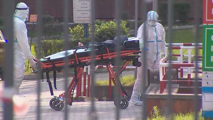 Ewakuacja pacjentów ze szpitalu we Włocławku. Co najmniej 30 zakażonych
