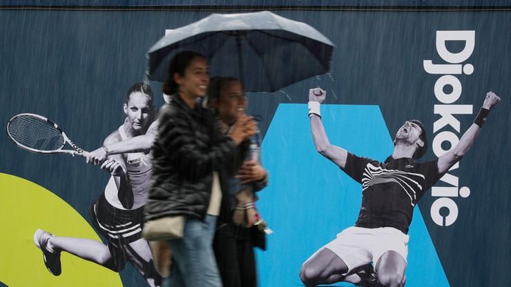 Australian Open: Mecze Polaków opóźnione przez deszcz