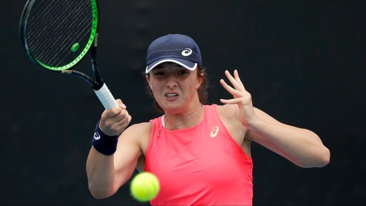 Australian Open: Świątek - Suarez Navarro. Relacja na żywo