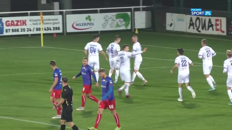 2019-10-18 Wigry Suwałki - Odra Opole 1:0. Bramka