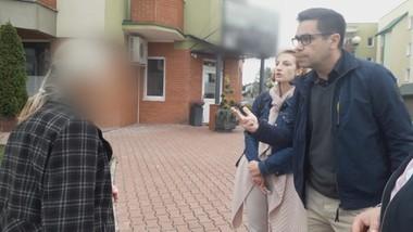 Emerytowana nauczycielka i dorosły syn okupują cudze mieszkanie
