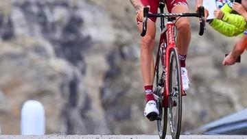 Były triumfator Tour de Pologne złamał kość krzyżową. Wycofał się z wyścigu