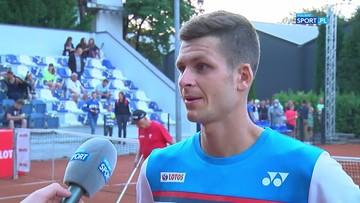 Hubert Hurkacz: Jasza zagrał świetny mecz