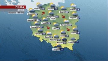"""""""Zbyt optymistyczna"""" prognoza pogody w Polsat News. Widzowie pytają, my wyjaśniamy"""