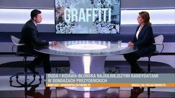 Kidawa-Błońska: kampanię Koalicji Obywatelskiej oceniam na 3+