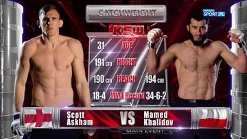 Mamed Khalidov - Scott Askham. Skrót walki