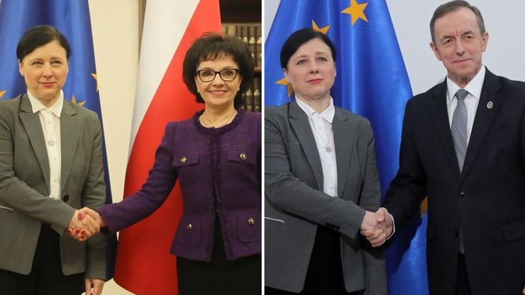 Wiceszefowa Komisji Europejskiej w Warszawie. Rozmowy ws. praworządności