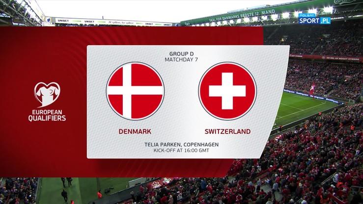 Dania - Szwajcaria 1:0. Skrót meczu