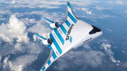 Maveric, futurystyczny samolot od Airbusa, pojawi się na niebie [FILM]